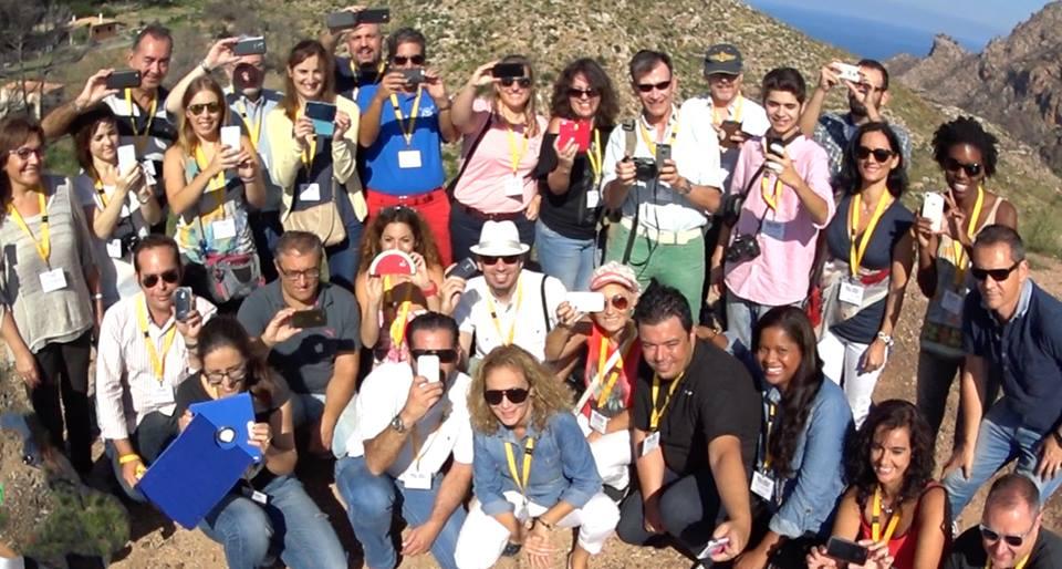 Participantes de #Mallorcafeelings en Tramuntana